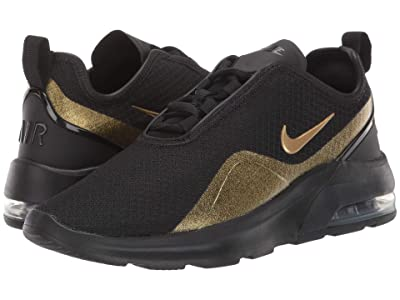 Nike Air Max Motion 2 (Black/Metallic Gold/Metallic Gold) Women