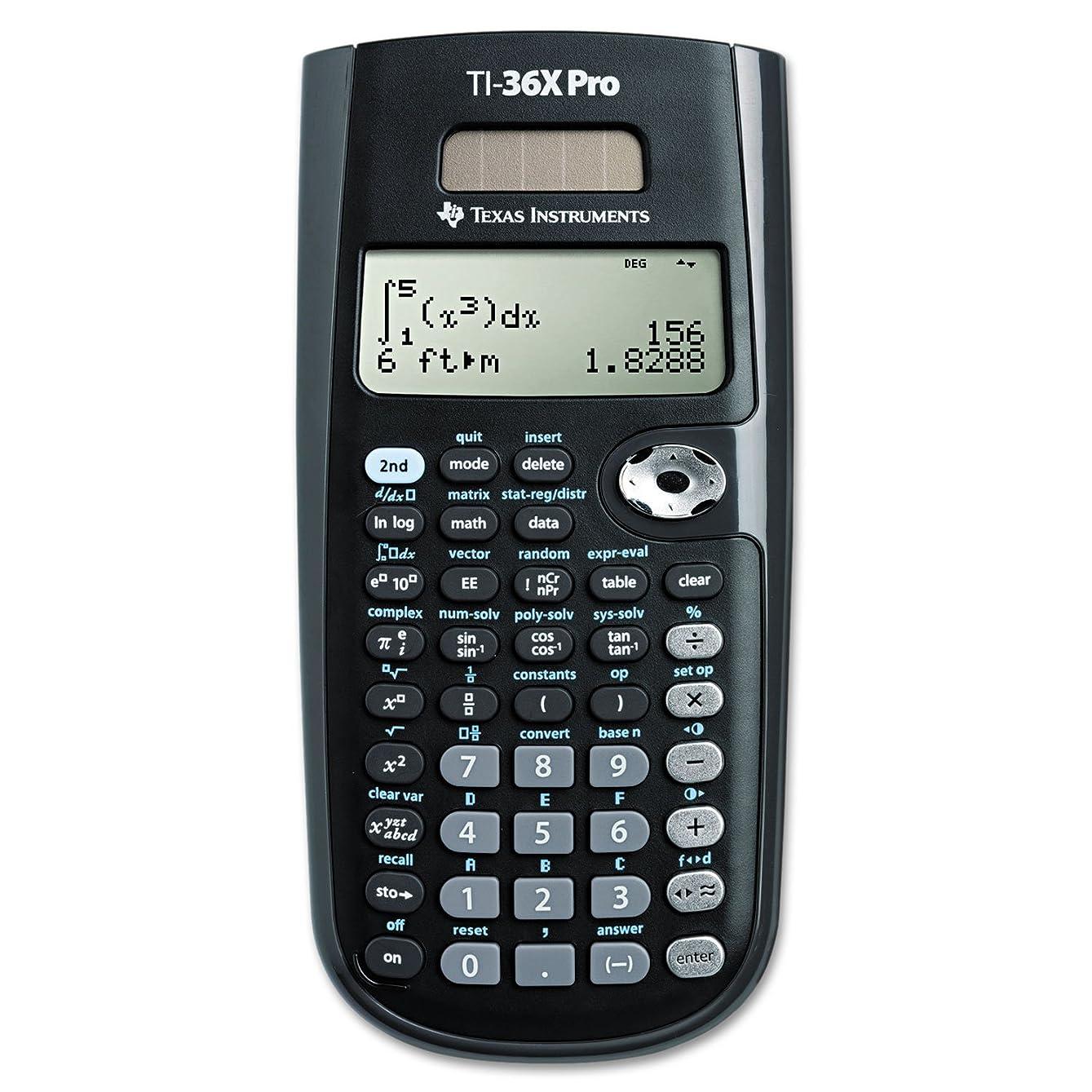 思春期スチール埋め込むti-36?X Pro Scientific Calculator、16桁LCD