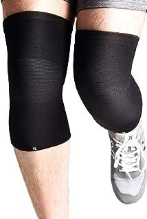 nithra 膝サポーター 膝 痛み リハビリ 医療用 保温 保護 日常生活 怪我防止 サポーター 伸縮性 (中厚/薄型) (2枚/1枚) (S/M/L/XL)