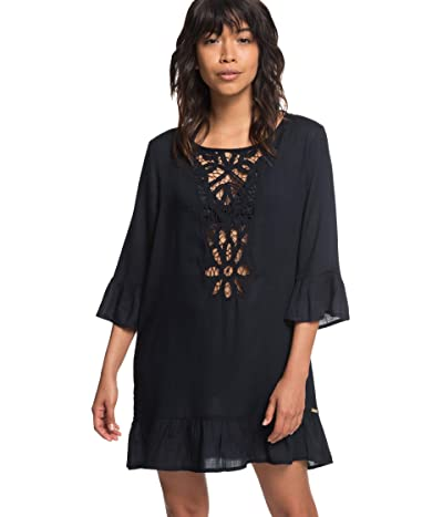 Roxy Goldy Soul Long Sleeve Cover-Up Dress Women