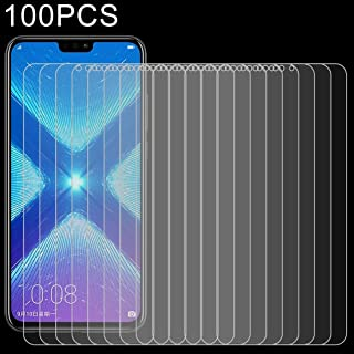 Good 100 PCS 0.26mm 9H 2.5D Explosion-proof Tempered Glass Film for Huawei Honor 8X Dualn