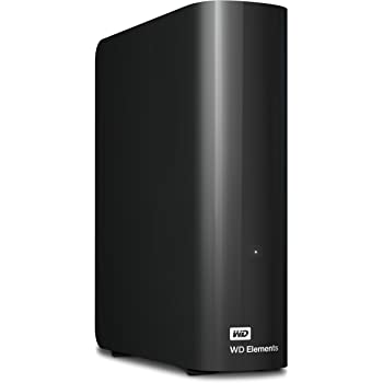 WD 12TB Elements Desktop Hard Drive, USB 3.0 - WDBWLG0120HBK-NESN