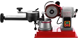 BestEquip Round Circular Saw Blade Grinder Machine 110V 370W Rotary Angle Mill Sharpener 125mm Electric Saw Blade Sharpener Machine for Sharpening Carbide Tipped Saw Blades