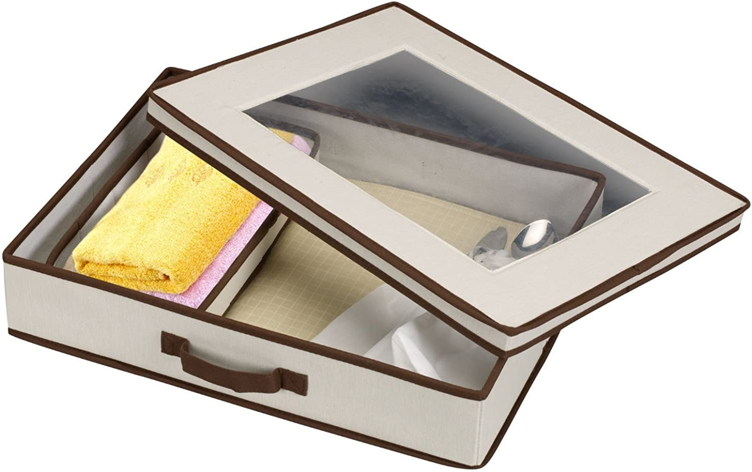 Villacera AX-AY-ABHI-94020 83-DT5774 Storage Chest for Tabletop Linens, Napkin Rings and Flatware