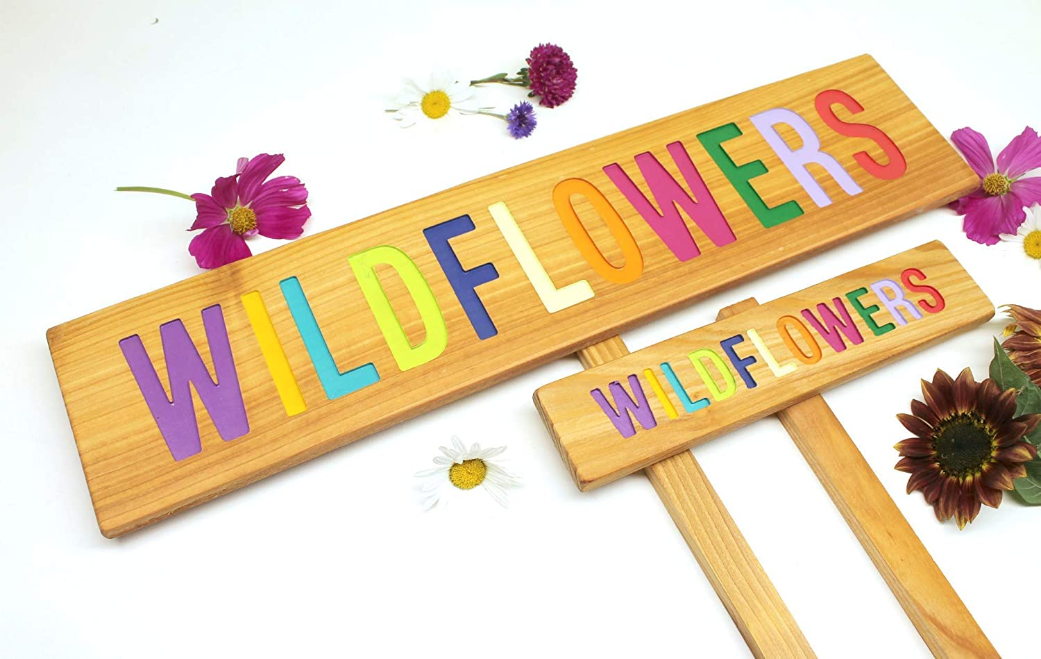 Wildflowers Colorful Garden Natural Cheap bargain Popular products Decor Sign