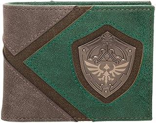 Legend of Zelda Wallet Gift for Gamers Legend of Zelda Accessories - Zelda BiFold Wallet Legend of Zelda Gift