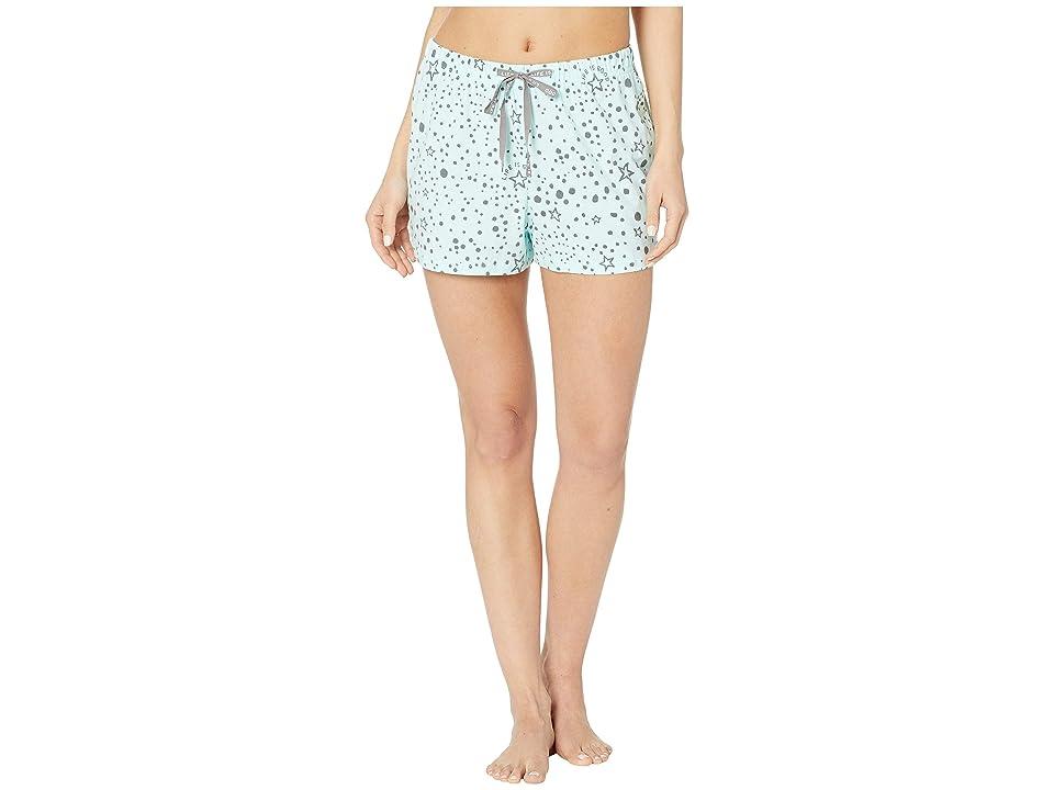 Life is Good Knit Sleep Shorts (Bermuda Blue) Women