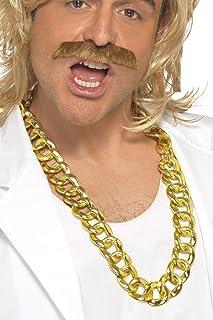 Klobige Halskette Gold, One Size