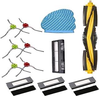 Części odkurzacza 14PC Pokrywa Płyta Główna Brush Kit Fit dla Ecovacs Deebot Ozmo 950 Robot Accessorie do urządzenia domowego