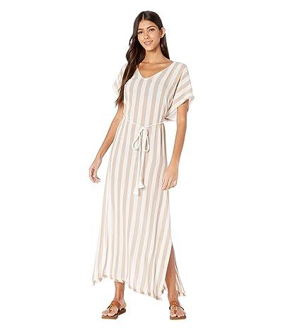 Billabong Wink Away Cover-Up Dress (Khaki Sand) Women