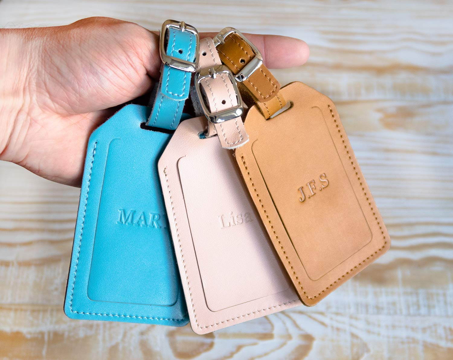 Personalized luggage Popularity tags Be super welcome Bag tag Custom Leather