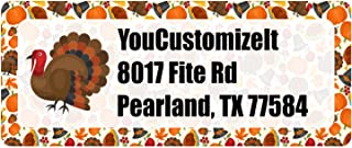 Traditional Thanksgiving Return Address Labels (Personalized)