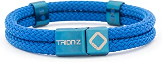 Magnetic Therapy Wristband from Trion:Z – Zen Loop Duo (Medium, Indigo Blue)