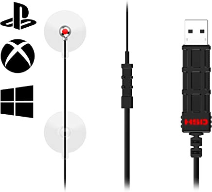 HIPSHOTDOT LED Aim Assist Gaming Accessory for PS4, PC, Xbox One, Xbox One X Works With Fortnite, Call of Duty, Controller