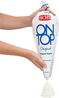 Rich On Top Non Dairy Dessert Topping, 16 Ounce -- 12 per case.