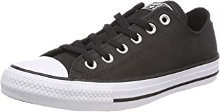 Converse Men's CTAS Ox Black/Black/White, Black/White