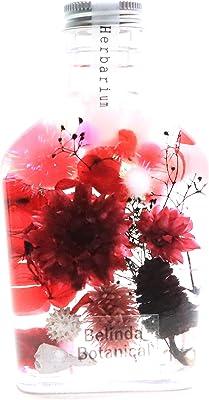 【Belinda Botanical】ハーバリウム 200㎖Whiskey bottle rossa