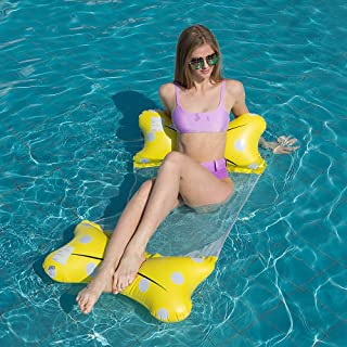Summer Inflatable Pool Floats for Adults Pool Lounger Pool Float Inflatable Water Hammock Pool Raft Fun Summer Pool Party