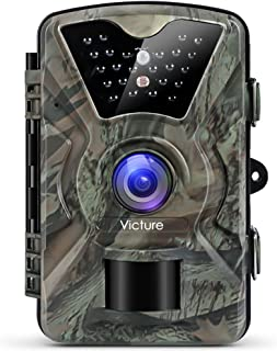 """【Upgraded】Victure Trail Camera 1080P 12MP Wildlife Camera Motion Activated Night Vision 20m with 2.4"""" LCD Di..."""