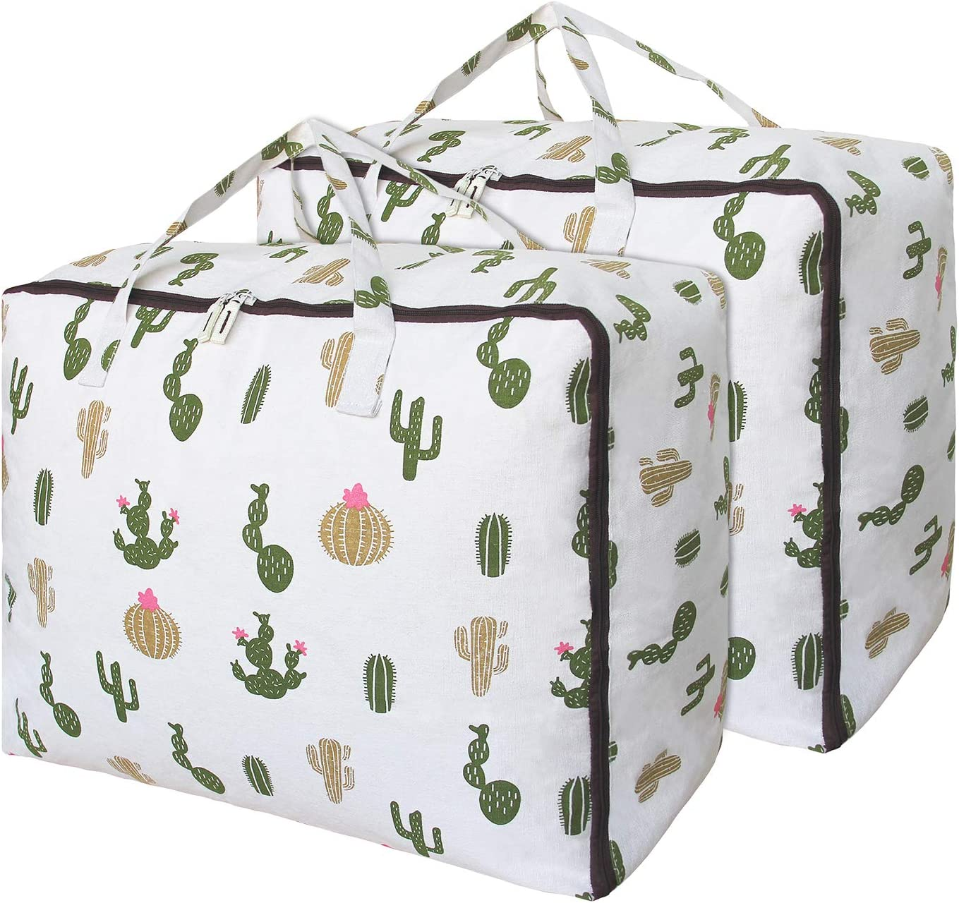 OUPAI Large Storage Bag with Zipper Bed Handles Chicago Mall 85L and safety S Under