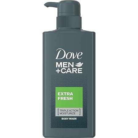 Dove(ダヴ) ダヴメン+ケア ボディウォッシュ エクストラフレッシュ ポンプ 400g ボディーソープ ボディソープ 爽快感あるフレッシュマリンの香り。