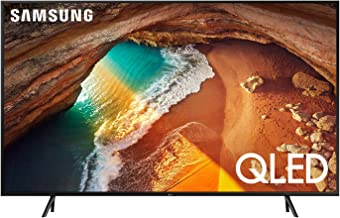 Samsung QN65Q60RAFXZA Flat 65-Inch QLED 4K Q60 Series Ultra HD Smart TV with HDR and Alexa Compatibility (2019 Model)