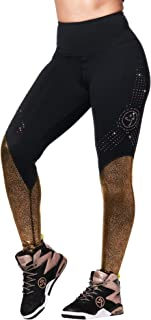Zumba Shine Ankle Leggings with Swarovski Crystals, Bold