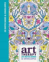 Art Therapy 20 Notecards & Envelopes