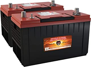 Qty 2 XCA31-1400 AGM Hino, HME Group 31 Gas Diesel Semi Truck Bus repl Battery