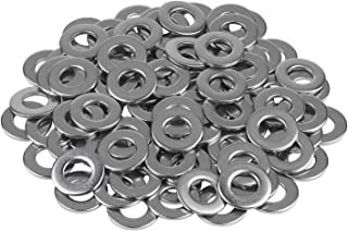 AISI 304 Stainless Steel 25 pcs SAE Pattern 1 Flat Washers 18-8