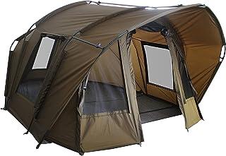 MK-Angelsport Fort Knox Air 3,5 personer karp tält kupol interiör höjd 1,75 m tält fisketält bivvy inklusive gummihammare