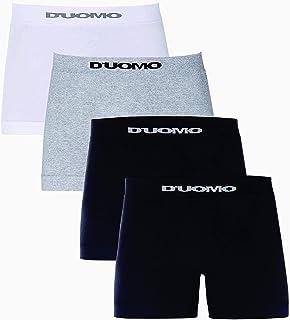 Kit de 4 Cuecas Boxer Básico, Duomo, Masculino