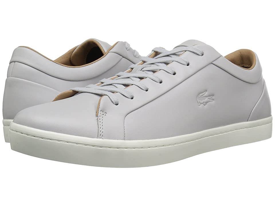 Lacoste Straightset 117 1 Cam (Light Grey) Men