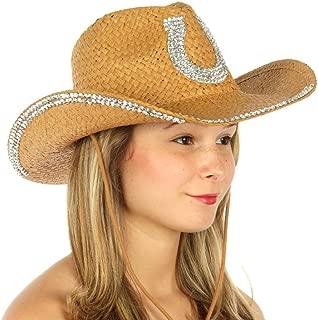 SERENITA Cowboy Hats for Women | Cowgirl hat | Wide Brim Fedora Hat, 1920s Panama Jazz Visor Gang