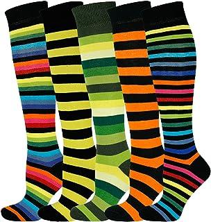 Mysocks para hombres y mujeres Paquete de 5 pares de calcetines de color liso peinados de algod/ón antracita
