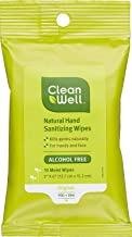 CleanWell 10 Count Citrus Thyme Hand Sanitizer Wipes - Discontinued by manufacturer