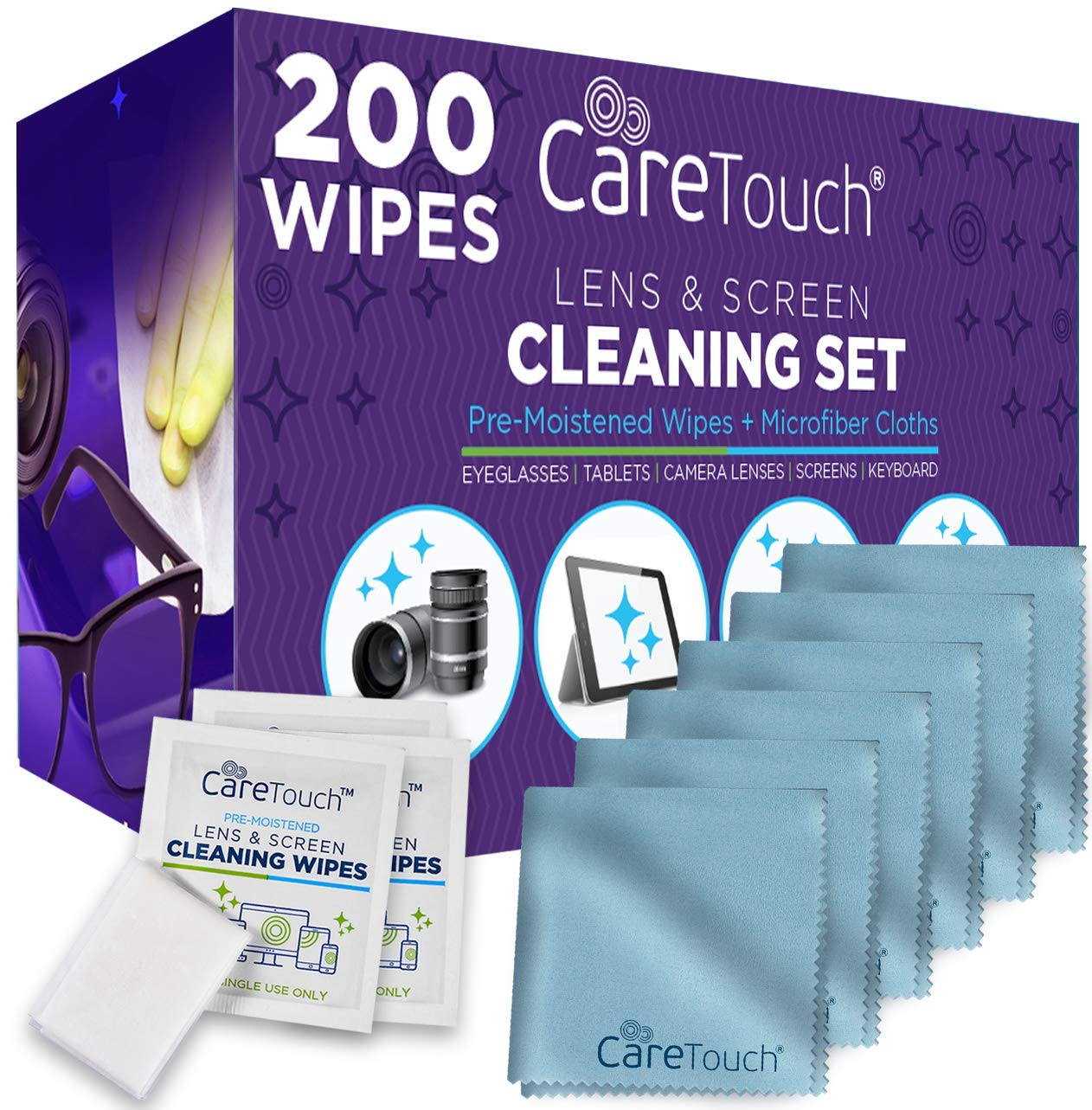 Care Touch Cleaning Microfiber Cloths