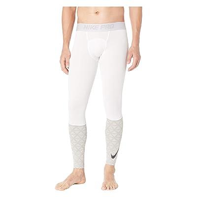 Nike Pro Tights Utility Therma (White/Atmosphere Grey/Black) Men