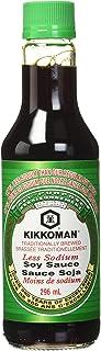 Kikkoman Soy Sauce, Less Sodium, 10 oz