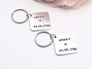 MICHELLE Personalised Name Keyring Keychain Key Fob Bespoke Stainless Steel Gift