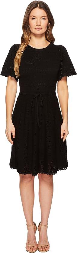 Kate Spade New York - Flutter Sleeve Sweater Dress
