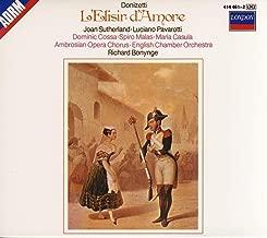 Gaetano Donizetti: L'Elisir d'Amore (The Elixir of Love) [Joan Sutherland, Luciano Pavarotti, Dominic Cossa, Spiro Malas; Richard Bonynge] (ORIGINAL CD RELEASE WITH FULL TEXT AND ENGLISH TRANSLATION)