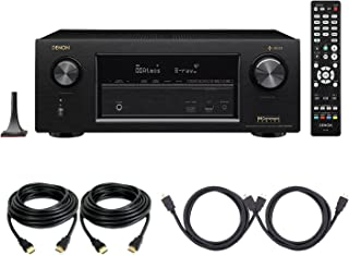 Denon AVRX3400H 7.2 Channel Full 4K Ultra HD Surround Network AV Receiver Amplifier with Built in Bluetooth & WiFi with HE...