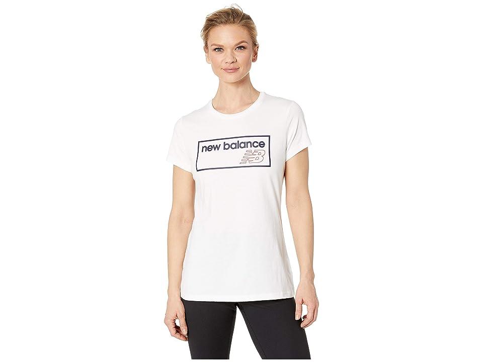 New Balance Athletic Tee (White) Women