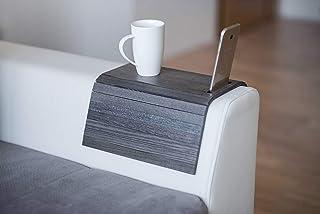 Drewniana sofa ramię tacka ochraniacze podłokietnik stół sofa stół podstawka taca na sofę uchwyt na telefon (Corlor 4.)