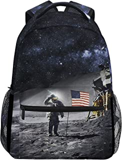 Space Nasa Astronaut Backpack for Boy for Girl America Bookbag 2020974