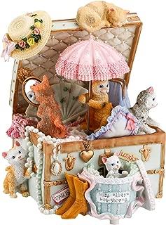 musical cat figurines