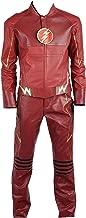 The Flash Eobard Thawne Barry Allen Battleframe PU Cosplay Costume