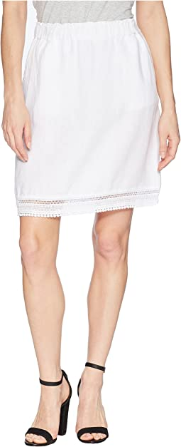 Seaside Lace Trim Skirt