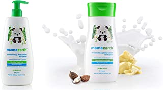 Mamaearth Daily Moisturizing Lotion for Babies, 400ml & Daily Moisturizing Lotion, 200ml Combo